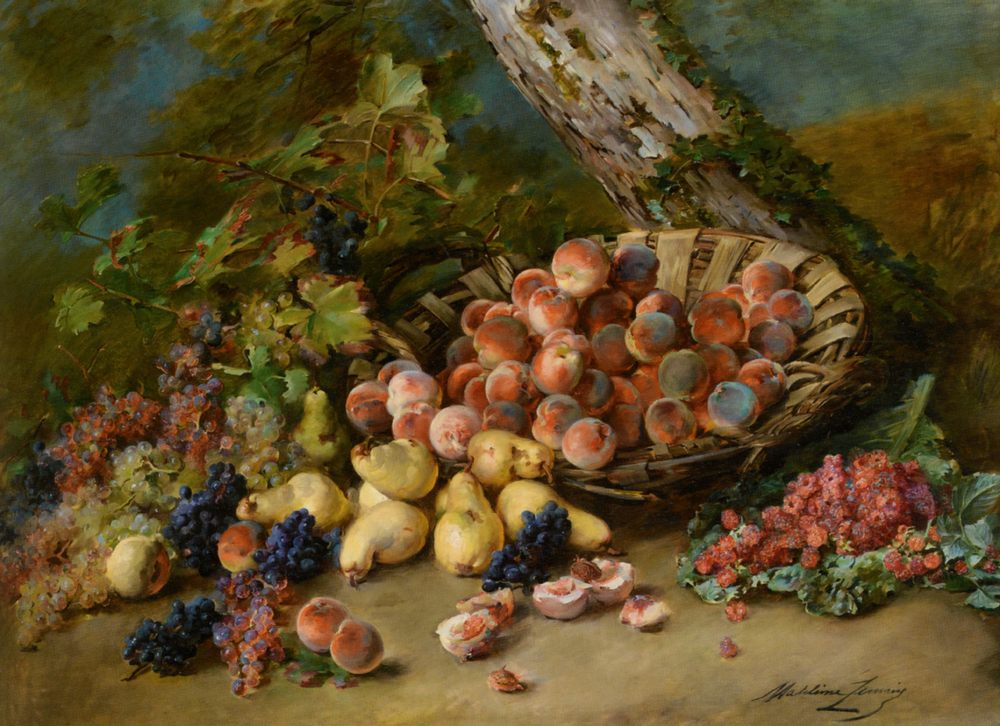 Still Life with Fruits :: Madeleine Jeanne Lemaire - Still-lives with fruit ôîòî