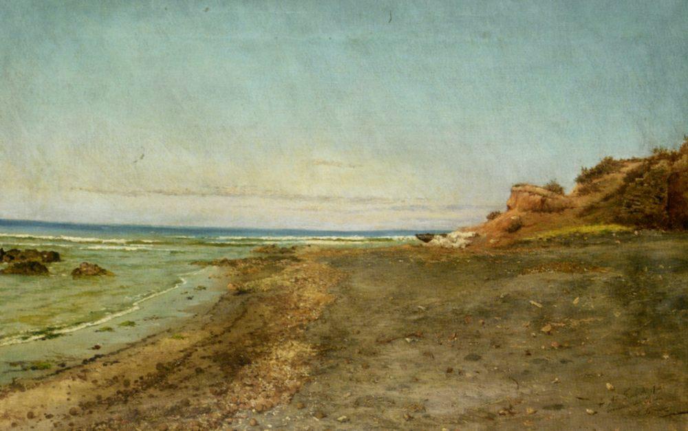 The Shore of Maccarese Near Fregene Rome :: Pietro Barucci - Coastal landscapes ôîòî