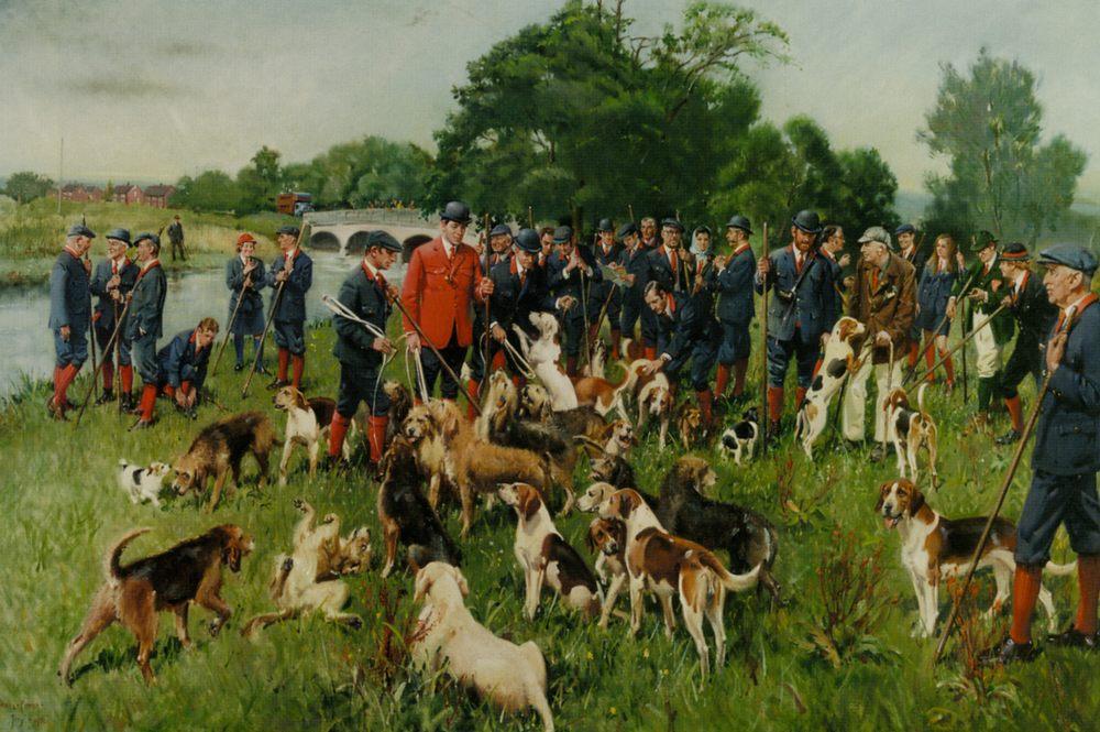 The Eastern Counties :: Terence Tenison Cuneo - Hunting scenes ôîòî
