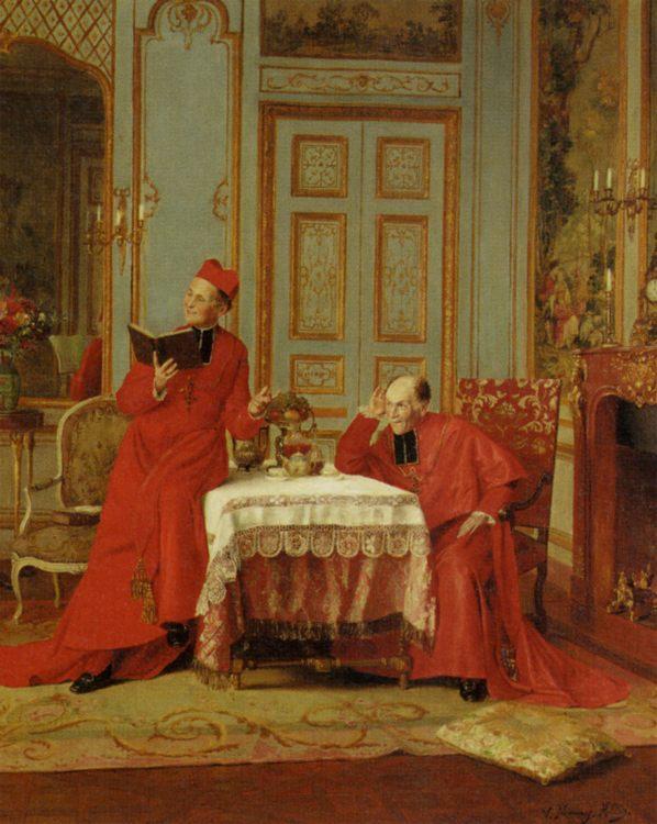 The Sermon :: Victor Marais-Milton - Rich interiors фото