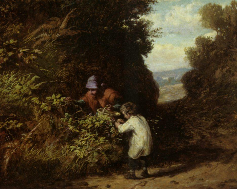 The Blackberry Gatherers :: William Bromley III - Village life ôîòî