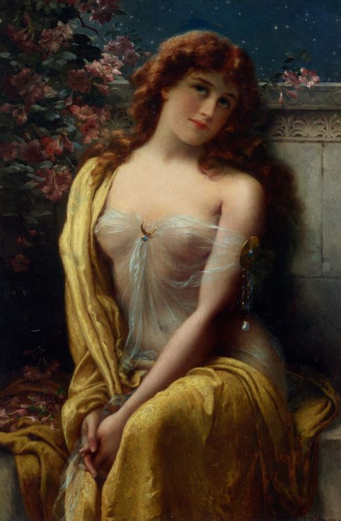 Starlight :: Emile Vernon - Nu in art and painting фото