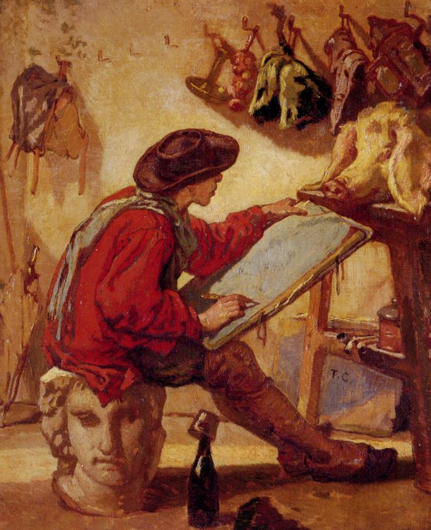 The Realist :: Thomas Couture - Interiors in art and painting ôîòî