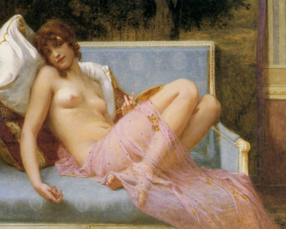 Idolence :: Guillaume Seignac - Antique beauties in art and painting фото