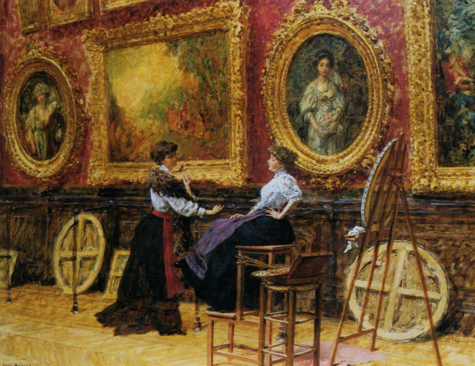 Louvre :: Louis Beroud - Rich interiors фото