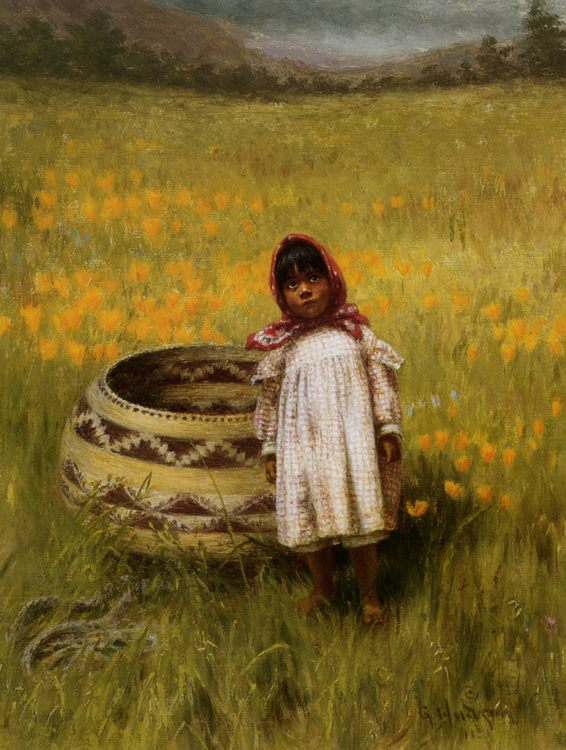 Frannys Girl Grace :: Grace Carpenter Hudson - Portraits of young girls in art and painting ôîòî
