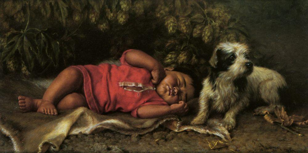 Mendocino Products :: Grace Carpenter Hudson - Babies portraits  ôîòî