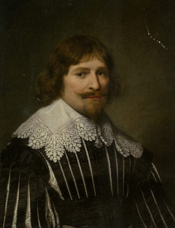Portrait of a Gentleman :: Cornelius Janssens (Johnson) Ceulen - men's portraits 17th century ôîòî