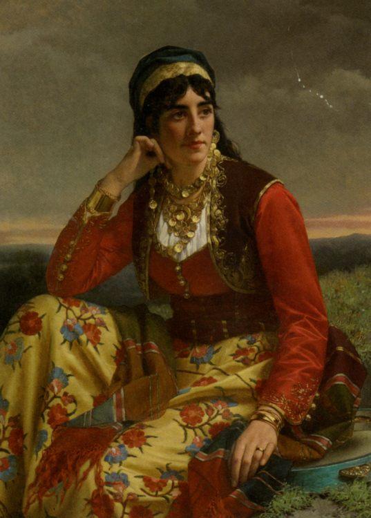 Eastern European Beauty :: Jan Portielje - Young beauties portraits in art and painting ôîòî