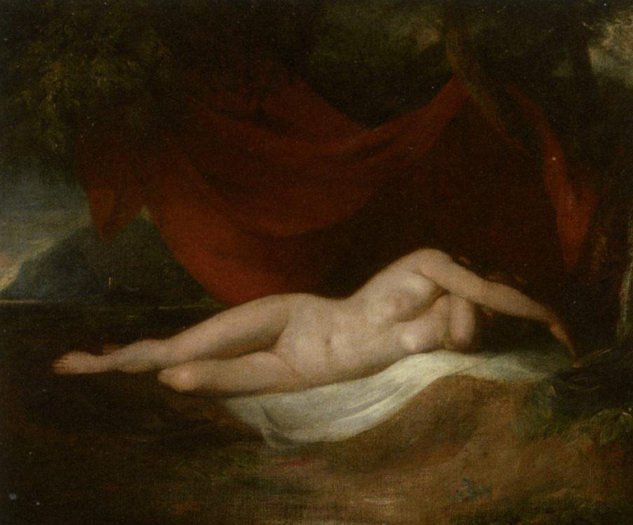 Reclining Female Nude :: William Etty - Nu in art and painting фото