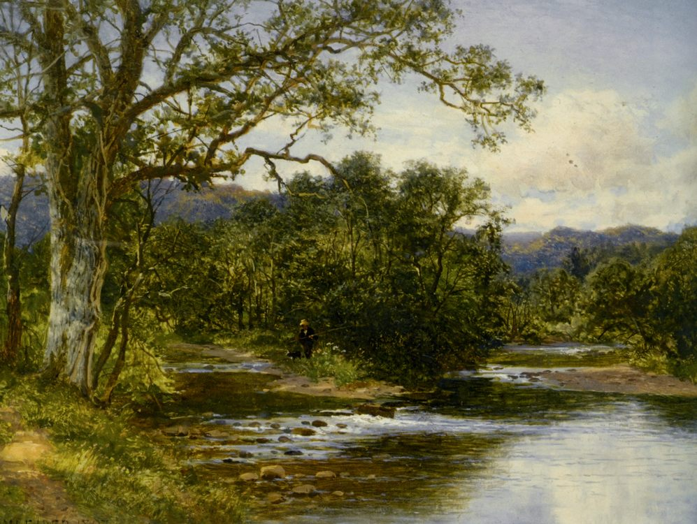 North Wales :: Benjamin Williams Leader - Forest landscapes ôîòî
