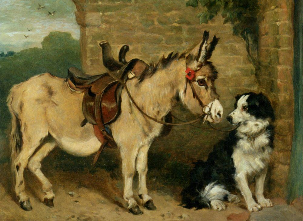 Ready for the Morning Ride :: John Emms  - Animals ôîòî