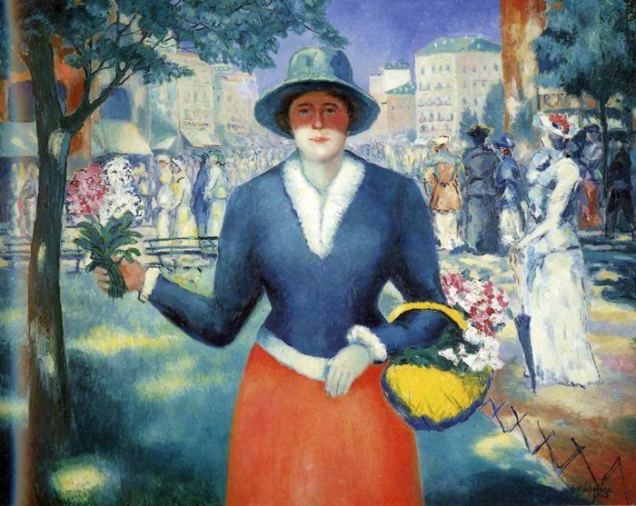 Flowergirl :: Kasimir Malevich  - 8 female portraits hall ôîòî