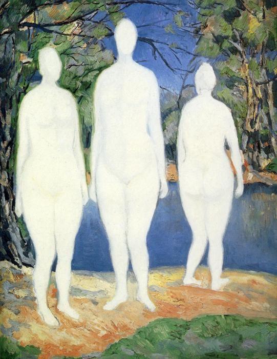 Bathers :: Kazimir Malevich - 8 female portraits hall ôîòî