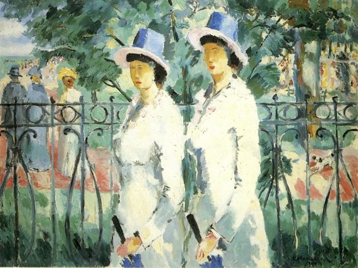 woman portrait Sisters :: Kazimir Malevich - 8 female portraits hall ôîòî