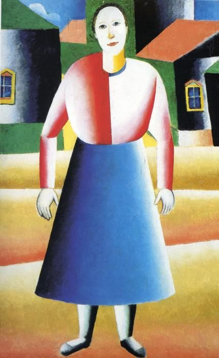 Girl in the Country :: Kazimir Malevich - 8 female portraits hall фото
