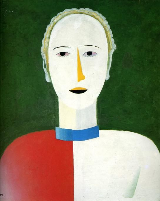 Portrait of a Woman :: Kazimir Malevich - 8 female portraits hall фото