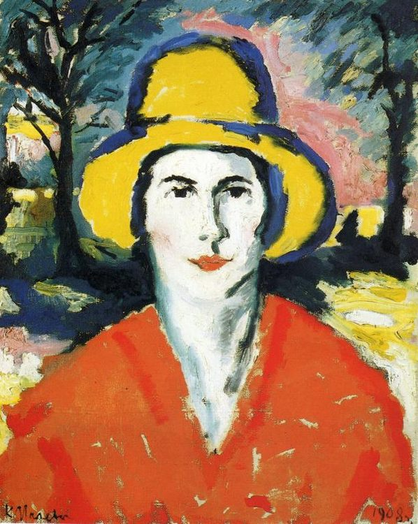 Portrait of Woman in Yellow Hat :: Kazimir Malevich - 8 female portraits hall ôîòî
