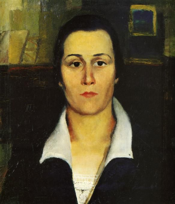 Portrait of a Woman :: Kazimir Malevich - 8 female portraits hall ôîòî