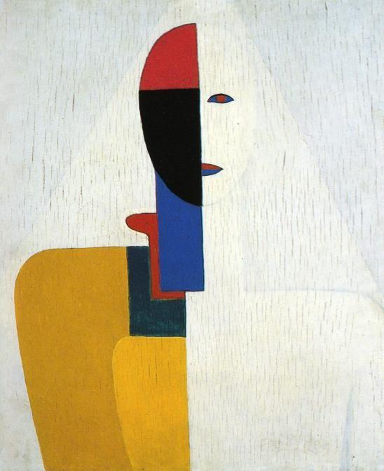 Woman Torso :: Kazimir Malevich - 8 female portraits hall фото