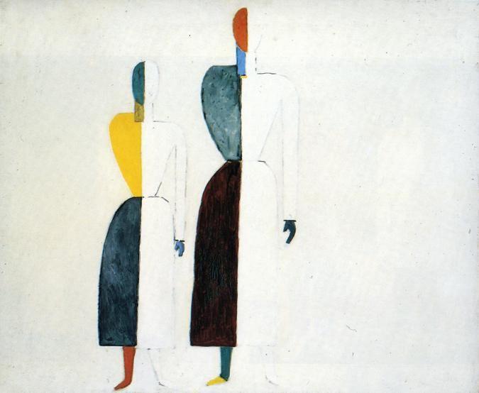 Two Figures :: Kazimir Malevich - 8 female portraits hall ôîòî