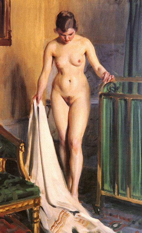 Naked model :: Anders Zorn - Nu in art and painting фото