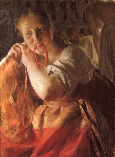 Margit :: Anders Zorn - 7 female portraits ( the end of 19 centuries ) in art and painting фото