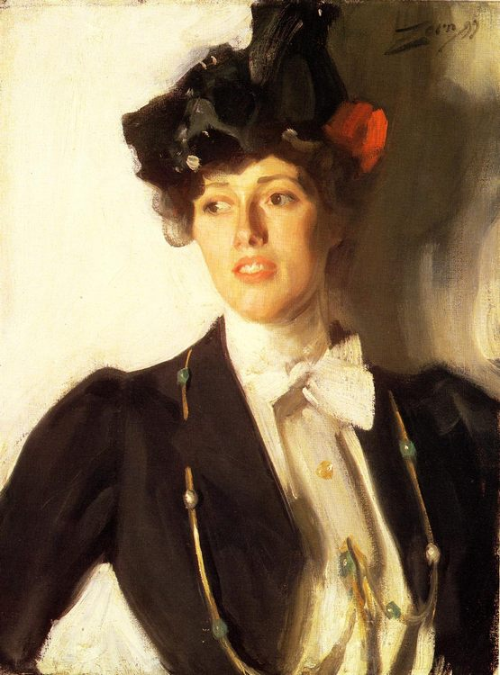 Martha Dana :: Anders Zorn - 7 female portraits ( the end of 19 centuries ) in art and painting фото