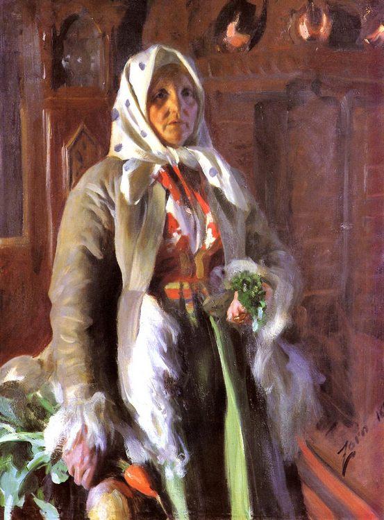 Mona :: Anders Zorn - Portraits of women of advanced age ôîòî