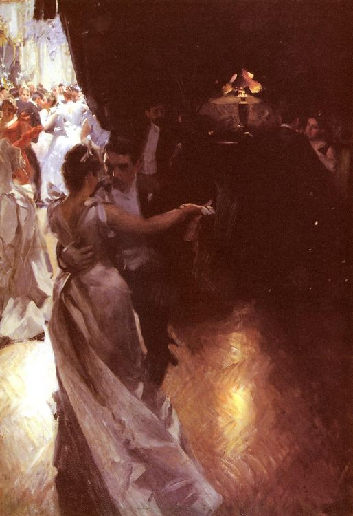 Valsen :: Anders Zorn  - Balls and receptions ôîòî