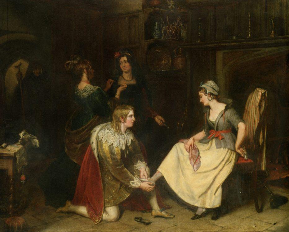 Cinderella :: Charles Landseer - mythology and poetry фото