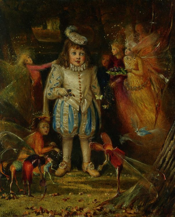 Fairyland :: John Anster Fitzgerald  - Fantasy in art and painting ôîòî